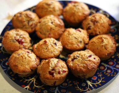 Cranberry muffins9