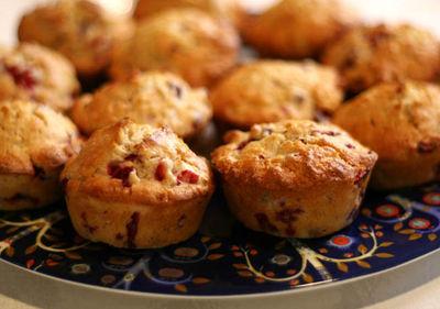Cranberry muffins8