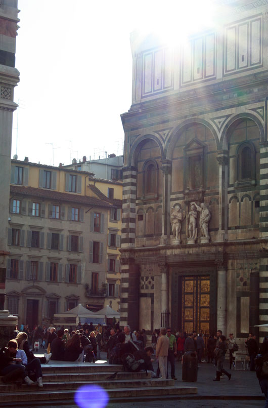 sunshine in Florence