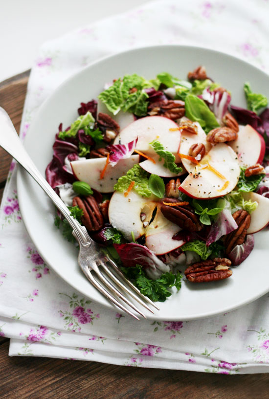 pecan apple salad