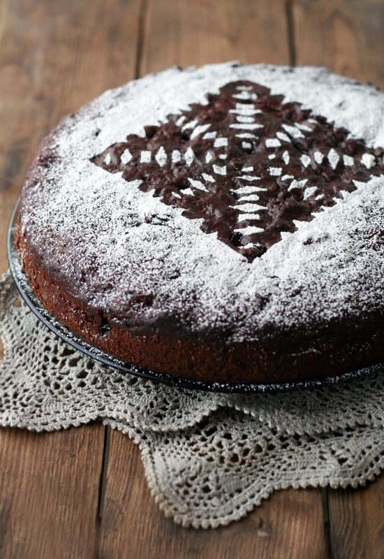 chocolate fruitcake